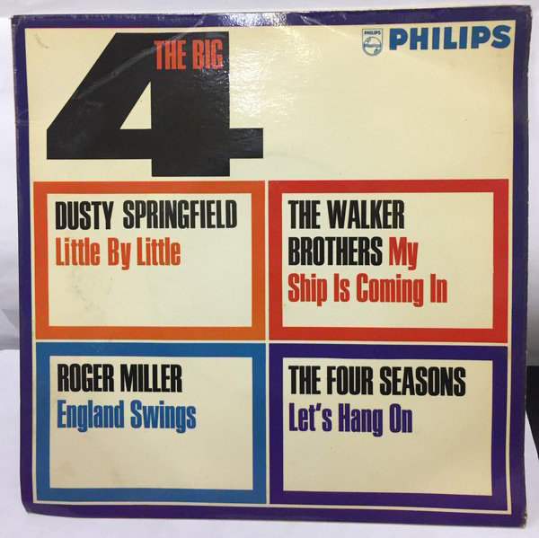 THE BIG 4(DUSTY SPRINGFIELD、WALKER BROTHERS、ROGER MILLER、DOUR SEASONS) EPレコード