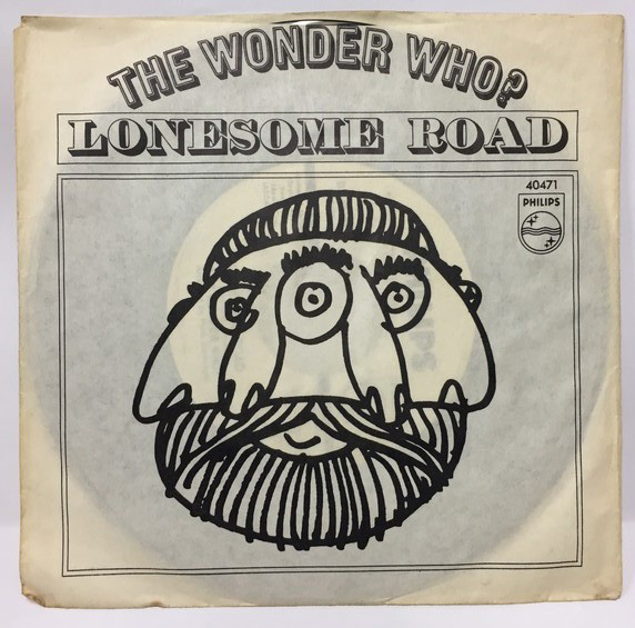 THE WONDER WHO?/LONESOME ROAD シングルレコード