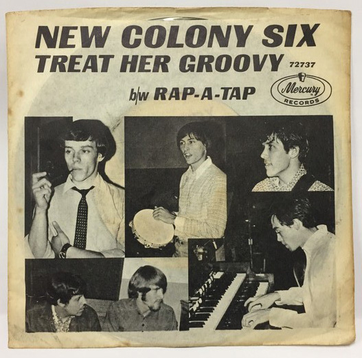 NEW COLONY SIX/TREAT HER GROOVY シングルレコード