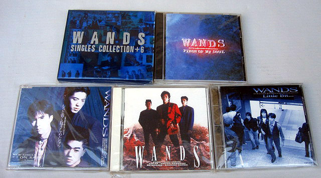 WANDS 5枚セット  CD